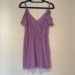 Lavender short dress